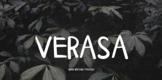 Free Verasa Handwriting Font