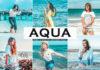 Free Aqua Lightroom Preset