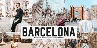 Free Barcelona Lightroom Preset
