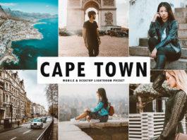 Free Cape Town Lightroom Preset