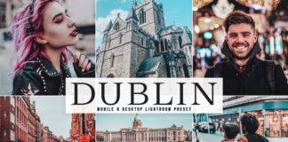 Free Dublin Lightroom Preset