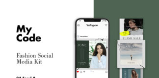 Free Fashion Instagram Post Templates