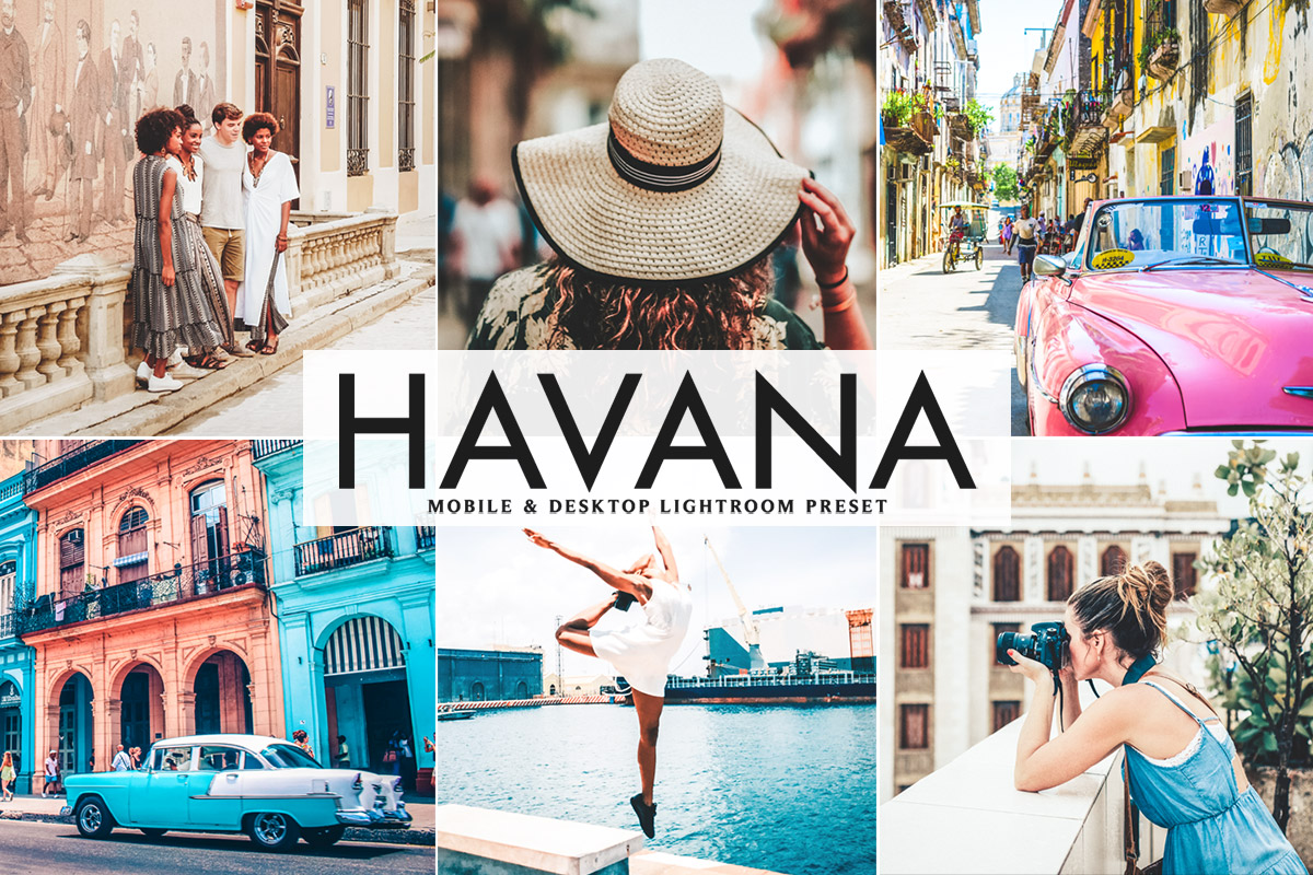 Free Havana Lightroom Preset