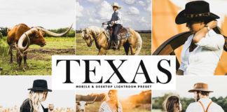 Free Texas Lightroom Preset