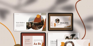Free Dealova Presentation Template
