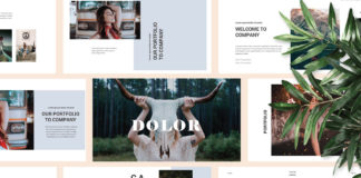 Free Dolor Presentation Template