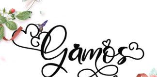 Free Gamos Script Font