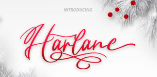 Free Harlane Script Font