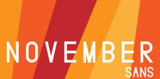 Free November Sans Display Font