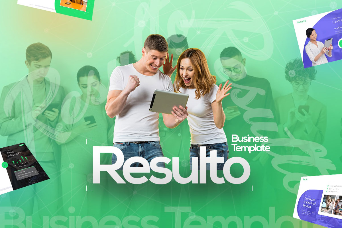Free Resulto Business Presentation Template