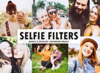 Free Selfie Filters Lightroom Preset