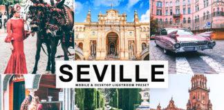 Free Seville Lightroom Preset
