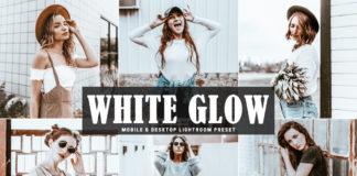 Free White Glow Lightroom Preset
