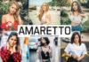 Free Amaretto Lightroom Preset