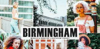 Free Birmingham Lightroom Preset