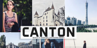 Free Canton Lightroom Preset