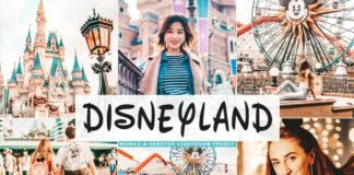 Free Disneyland Lightroom Preset