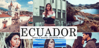 Free Ecuador Lightroom Preset