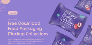 Free Food Packaging Mockup Collection