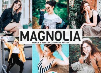 Free Magnolia Lightroom Preset