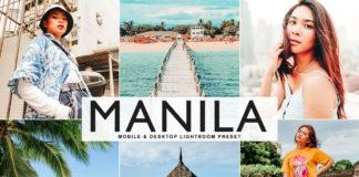 Free Manila Lightroom Preset