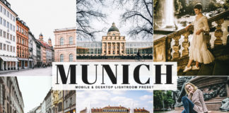 Free Munich Lightroom Preset