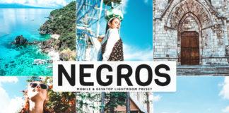 Free Negros Lightroom Preset