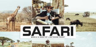 Free Safari Lightroom Preset