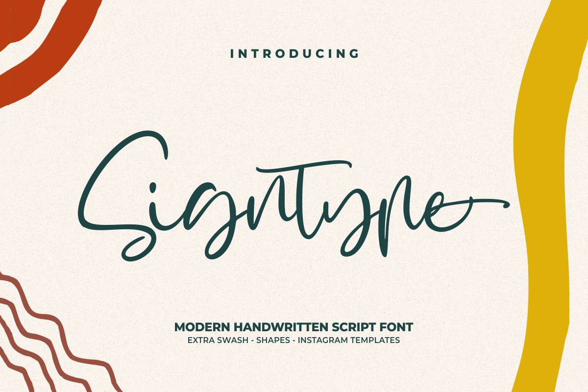 Free Signtype Handwritten Font