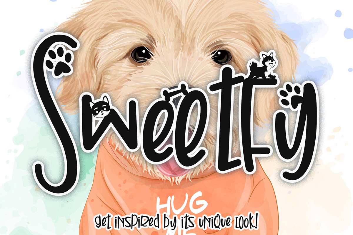 Free Sweetfy Display Font