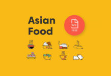 Free Asian Food Icon Pack