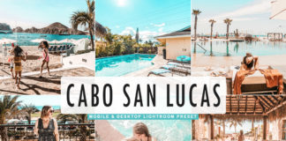Free Cabo San Lucas Lightroom Preset