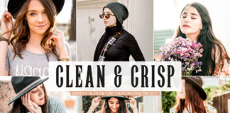 Free Clean & Crisp Lightroom Preset
