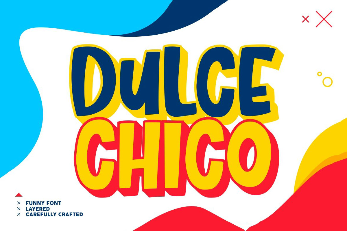 Free Dulce Chico Display Font