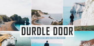 Free Durdle Door Lightroom Preset