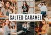 Free Salted Caramel Lightroom Preset