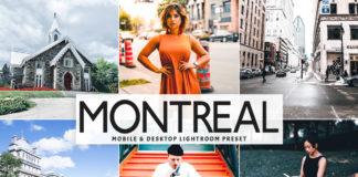 Free Montreal Lightroom Preset