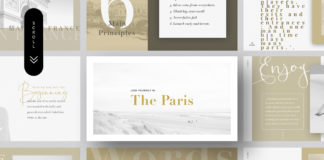 Free Paris Presentation Template