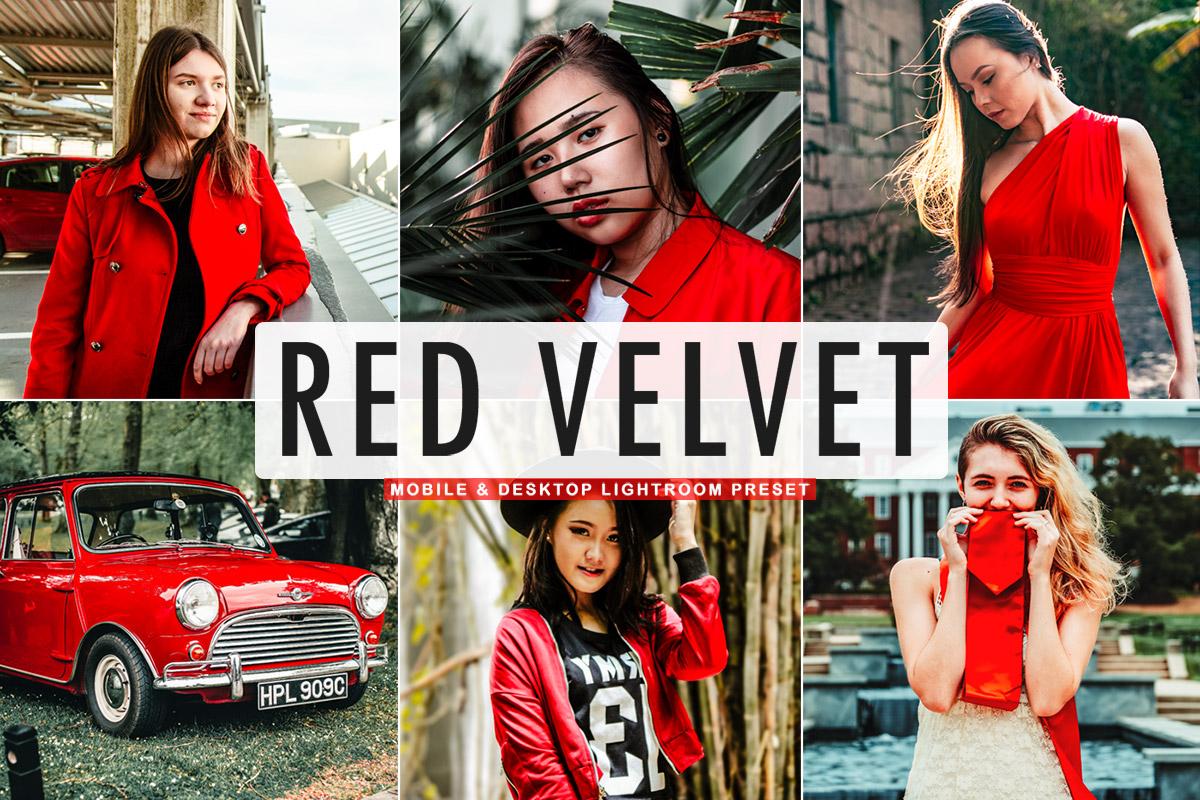 Free Red Velvet Lightroom Preset
