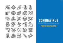 30 Free Coronavirus Icon Collection