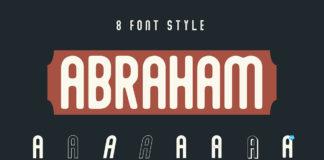 Free Abraham Sans Serif Font Family
