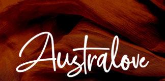 Free Australove Script Font