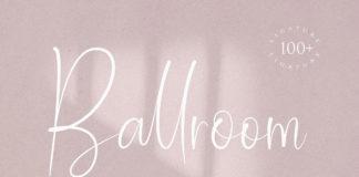 Free Ballroom Script Font