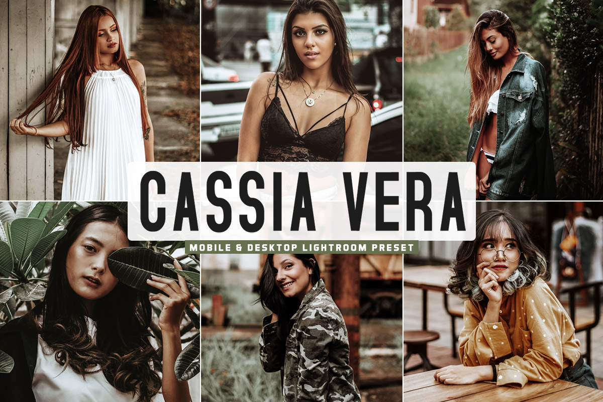 Free Cassia Vera Lightroom Preset