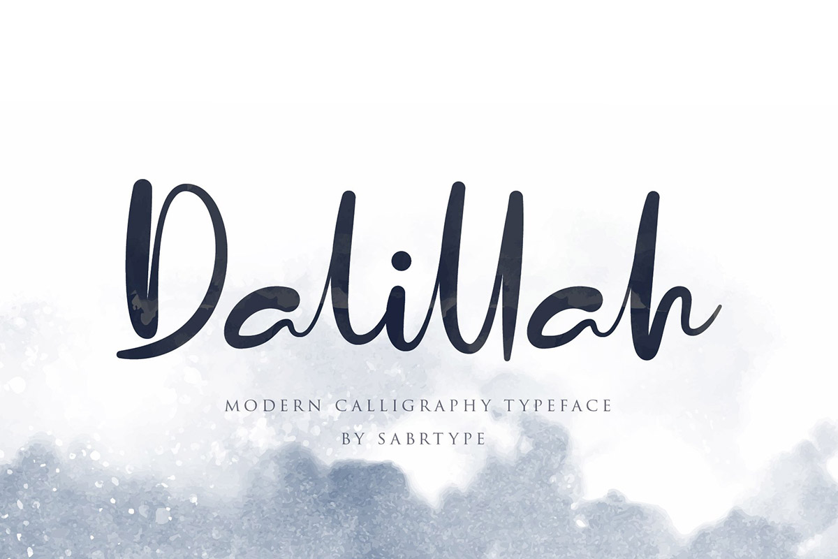 Free Dalillah Script Font