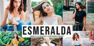 Free Esmeralda Lightroom Preset