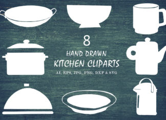Free Handmade Kitchen Cliparts