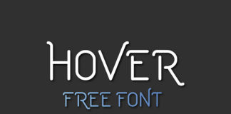 Free Hover Display Font
