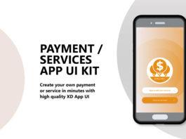 Free Payment Services App UI Kit