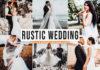 Free Rustic Wedding Lightroom Preset